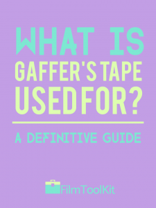 what is gaffers tape used for