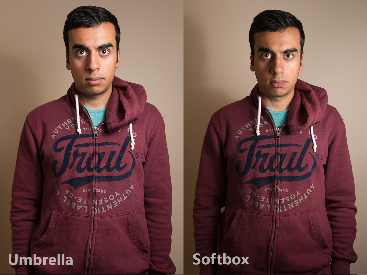 Umbrella vs softbox