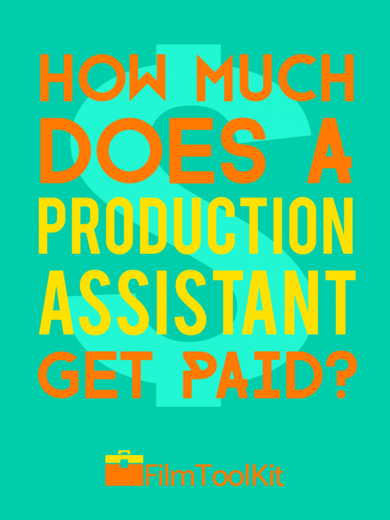 how much does a production assistant get paid
