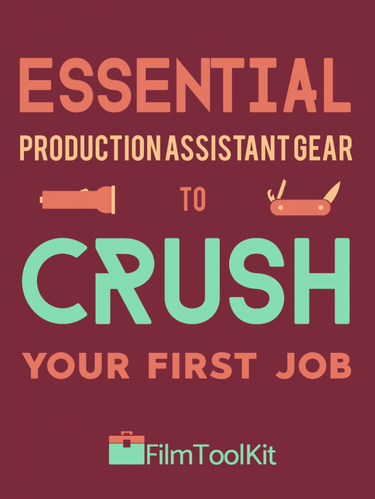 Essential Production Assistant Gear To Crush Your First Job