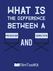 difference between producer and director