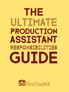 production assistant duties and responsibilities