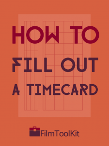 how to fill out a timecard
