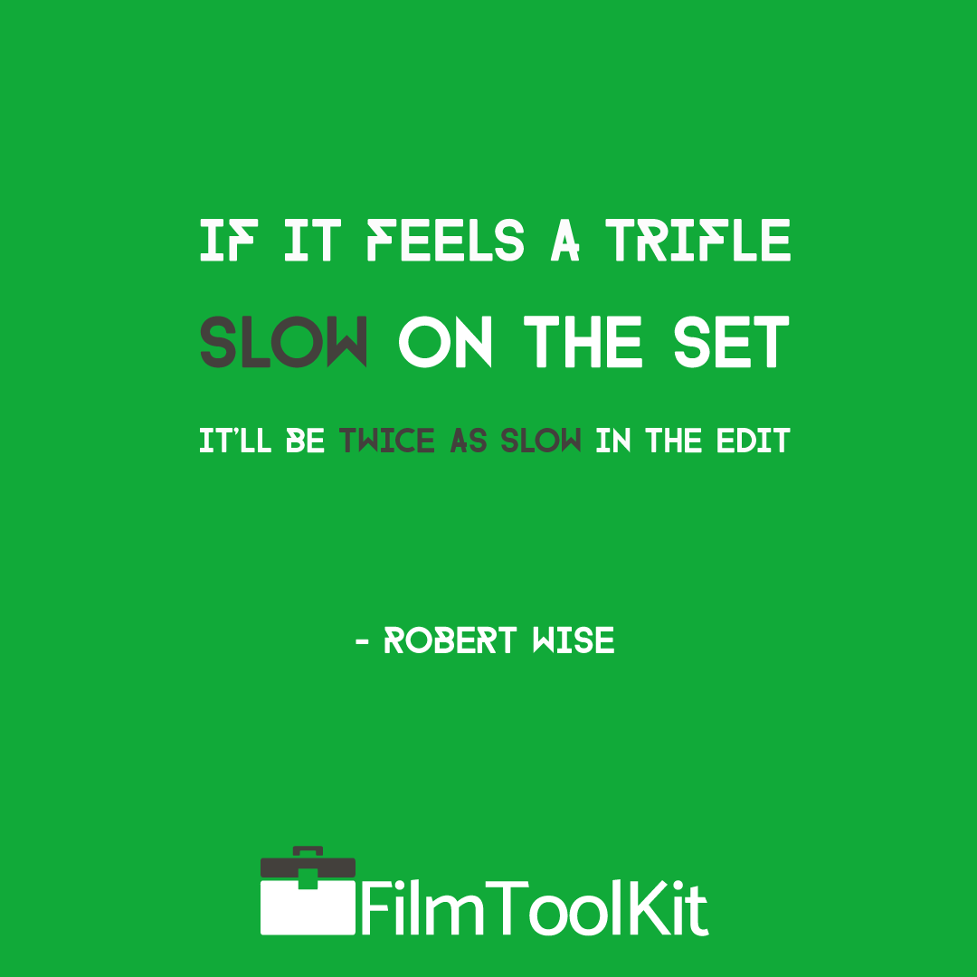 robert wise quote