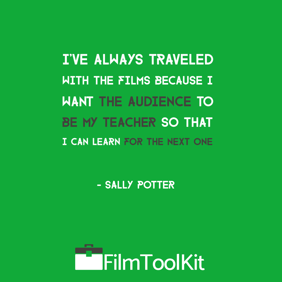 sally potter quote