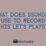 what does ssundee use to record